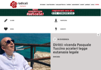 First screen capture by European Democracy Consulting's Logos Project for Radicali Italiani