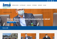First screen capture by European Democracy Consulting's Logos Project for Lista Marjana Šarca
