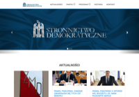 First screen capture by European Democracy Consulting's Logos Project for Stronnictwo Demokratyczne