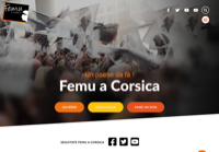 First screen capture by European Democracy Consulting's Logos Project for Femu a Corsica