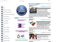 First screen capture by European Democracy Consulting's Logos Project for L'Altro Sud