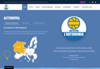 First screen capture by European Democracy Consulting's Logos Project for Patto per l'Autonomia