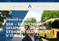 First screen capture by European Democracy Consulting's Logos Project for Slovenska Skupnost