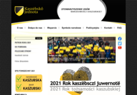 First screen capture by European Democracy Consulting's Logos Project for Kaszebsko Jednota