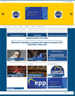 Full webpage capture by European Democracy Consulting's Logos Project for Alternativa Popolare