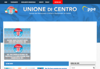 First screen capture by European Democracy Consulting's Logos Project for Unione di Centro