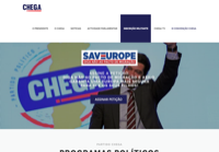 First screen capture by European Democracy Consulting's Logos Project for Chega