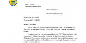 EU Ombudsman Response