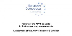 EDC comments the APPF's reply